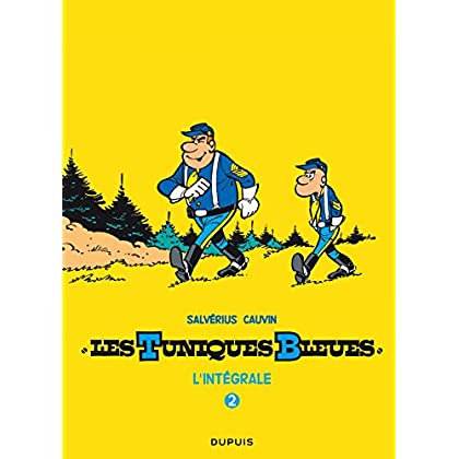Les Tuniques Bleues - L'intégrale - Tome 2: Salvérius / Cauvin