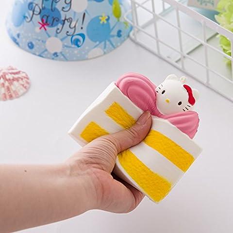 12cm Creative Stress Kombination Squishy Squeeze Simulation Torte SUPER Slow Rising Fun Weich Spielzeug für Kid Decor Geschenke