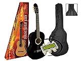 Pack Guitare Classique 4/4 Avec Accessoires ~ Neuve and Garantie 2 ans (NOIR)