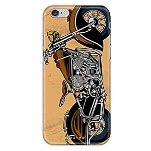 Mozine Bikers Life Full Printed Mobile Back Cover For Apple Iphone 6S
