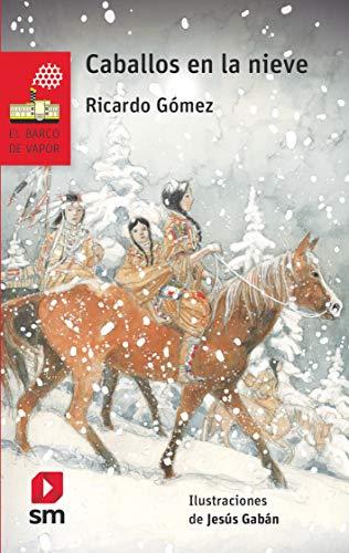 Caballos en la nieve (El Barco de Vapor Roja) por Ricardo Gómez Gil