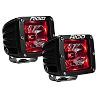 LED Pod with Backlight Radiance RIGID Industries, 20202, Red