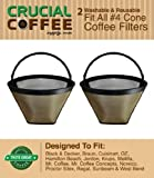 2 Coffee Filters # 4 Cone, Black & Decke...