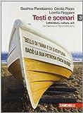 Testi e scenari. Letteratura, cultura, arti. Vol 3-4. Per le Scuole superiori. Con espansione online