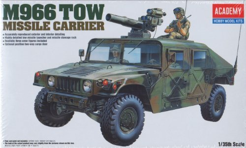 ACA13250 1:35 Academy M966 Humvee TOW Missile Carrier MODEL KIT by Academy