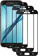 Tmoner [3 Stück] Panzerglas Displayschutzfolie für Samsung S7, Full HD, Kratzfest Anti-Fingerabdruck, Keine Luftblasen, Samsung S7 Hochwertige Gehärtetem Panzerglasfoile,Schwarz