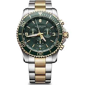 Victorinox Reloj Cronógrafo de Cuarzo para Hombre con Correa de Acero Inoxidable – 241693