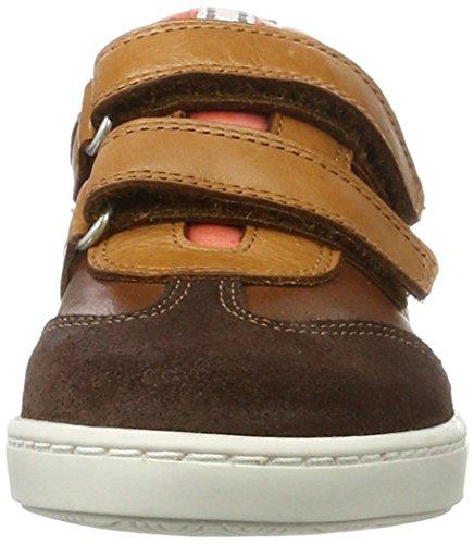 BellyButton Unisex-Kinder Sneaker Braun (Cognac)