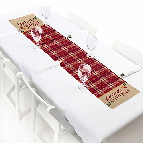 Friends Thanksgiving Feast - Petite Friendsgiving Party Papier-Tischläufer - 30,5 x 152,4 cm ()