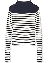 New Look Breton Stripe, Pull Fille