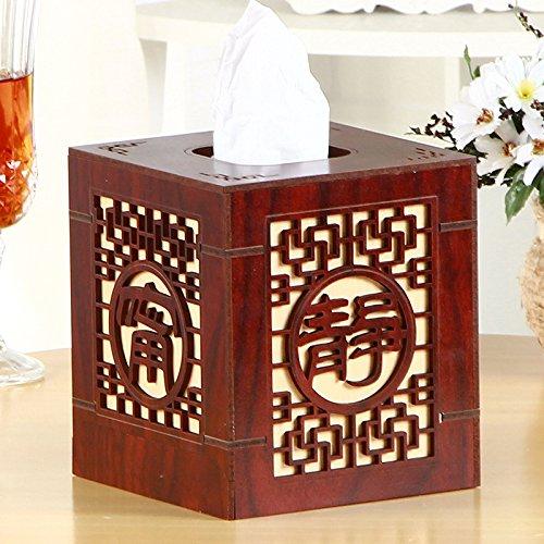 Redwood Box (XBR ein gewebe - box mit toilettenpapier papier box der klassischen chinesischen hohlen kasten,redwood)