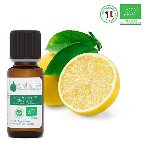 Ätherisches Bio-Zitronenöl - 10ml -