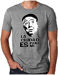 35mm - Camiseta Hombre - La Ciudad Es Para Mi - Paco Martinez Soria - Funny