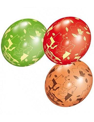 py Birthday' Latex-Ballons (Packung zu 5) ()
