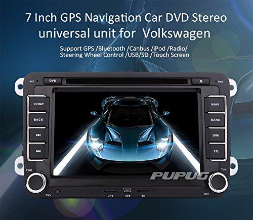 Tableau 7 pouces écran tactile Lecteur DVD GPS système de Navigation avec iPod BT pour VW Golf de Volkswagen Amarok T5 Jetta/EOS Caddy Polo CANBUS