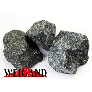Weigand Finnische Saunasteine Premium identisch mit den Harvia Steinen I ca. 20 kg I 5-10 cm I gewaschen I für alle Saunaöfen geeignet