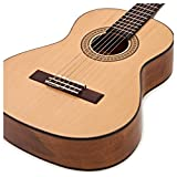 Deluxe guitare classique 3/4 Natural de Gear4music