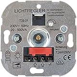 Blass elektro 411 - Fase gating socket dimmer universal de bajo voltaje lámparas halógenas de presión / cambio, 20-500 w