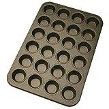 Städter 488052 Muffinform in Geschenkverpackung mit Rezept 24 Formen,  Antihaft-Beschichtung, ø 4.5 cm / hoch