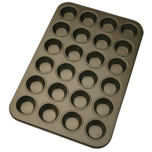 Städter 488052 Muffinform in Geschenkverpackung mit Rezept 24 Formen,  Antihaft-Beschichtung, ø 4.5 cm / hoch -