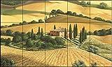 Keramik Fliesen - Tuscan Gold von Michael Swanson - Küche Aufkantung / Bad Dusche