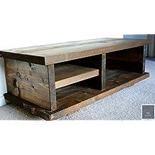Amazonfr Table Basse Bois Style Industriel