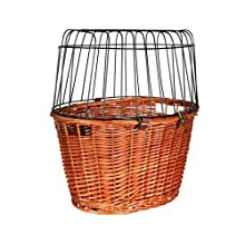 Trixie 2806 Bicycle Basket with Grille 44 x 48 x 33 cm