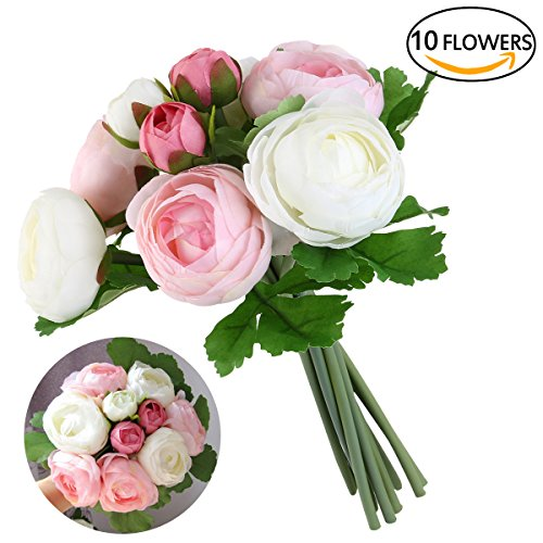 ramo para bodas (rosa + blanco)