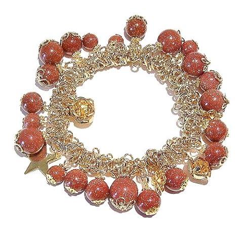 Bracelet Doré de Style