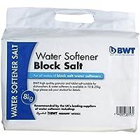 BWT Salblo - Descalcificador de agua (2 unidades, 8 kg), color blanco