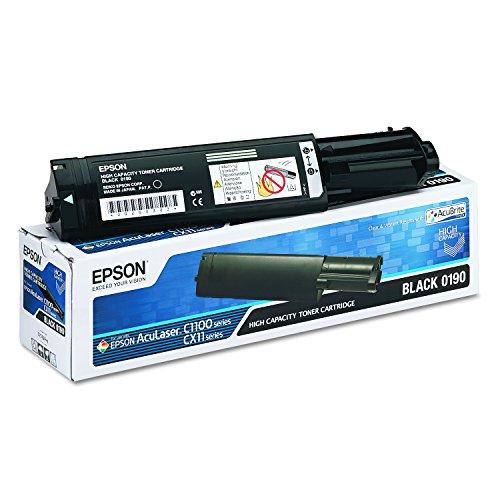 epson cx11nf Epson C13S050190 AcuLaser C1100 Tonerkartusche Hohekapazität 4.000 Seiten AcuBrite, schwarz