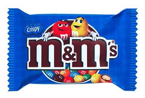 M&M's Pochon de Chocolat au Riz Soufflé 360 g -