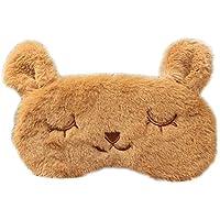 Spaufu Schlafmaske mit süßem Cartoon-Motiv mit Hasenmuster für Schlafen, Erwachsene, Kinder, Augenklappe, zur... preisvergleich bei billige-tabletten.eu