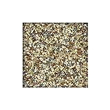 25 kg Steinteppich / Marmorkies inkl.1K Bindemittel 2-4 mm ausreichend für ca. 2,3 m² direkt vom KiesKönig® Arabescato