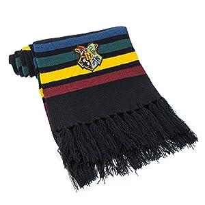 Cinereplicas - Harry Potter - Bufanda - Ultra Suave - Licencia Oficial - Hogwarts - 190 cm - Negro con Rayas Rojas… 6