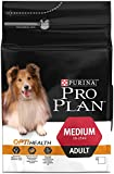 Purina Pro Plan Medium Adult with Optihealth Dry Dog Food Rich in Chicken, 3 Kg
