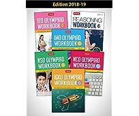 Class 6: Work Book & Reasoning Book Combo for NSO-IMO-IEO-NCO-IGKO (2018-19)