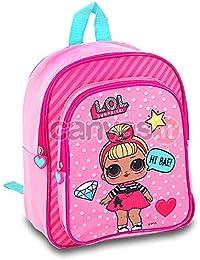 Kids LOL Surprise Mochila Infantil, 30 cm, Rosa