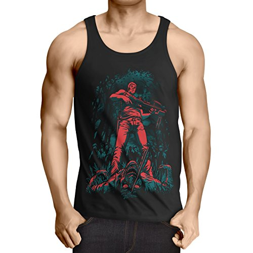 Tank Top walking horror dixon the halloween dead, Größe:XXL (Top 5 Halloween-horror-filme)