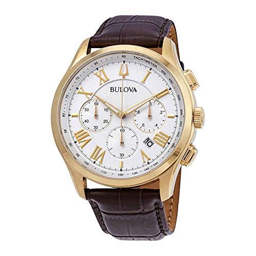 Bulova 97b169Wilton–Reloj para hombres color marrón 46,5mm acero inoxidable