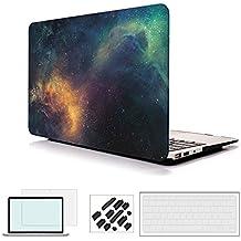 RYGOU Macbook Pro 13 '' Case 2016, (4 en 1 paquete) Hard Shell con pantalla de cubierta de teclado Protectand para el nuevo Macbook Pro lanzado de 13 pulgadas con y con la barra táctil de salida: A1706 / A1708