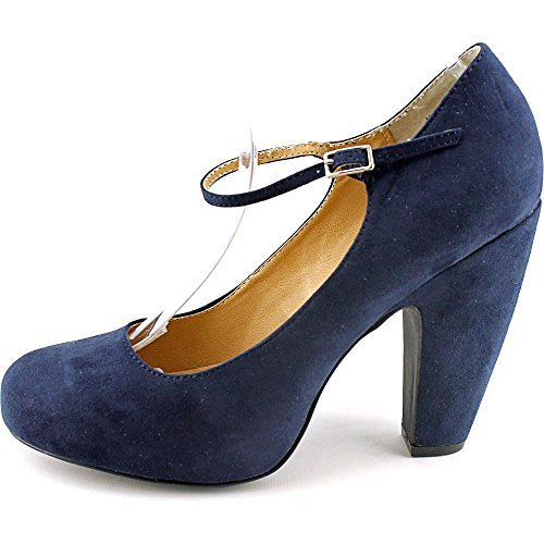 American Rag Jessie Toile Mary Janes Navy