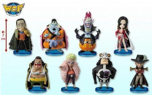 ONE PIECE (One Piece) Sectional World Collectable Figure vol.4 all eight species set (japan import)