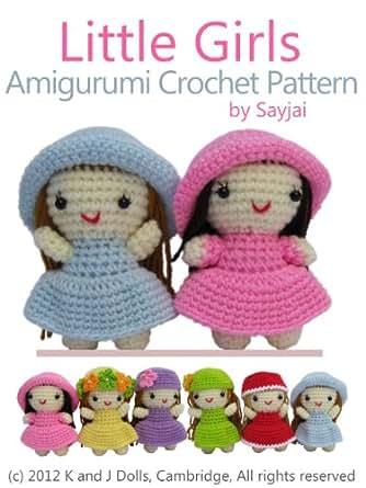 Little Girls Amigurumi Crochet Pattern Easy Crochet Doll Patterns