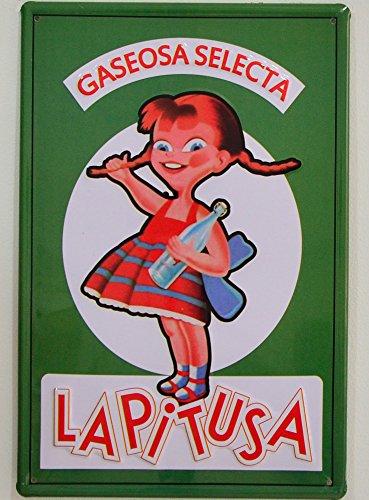 Colecciones Nostálgicas Chapa Vintage Gaseosa La Pitusa