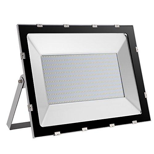 Yuanline Focos LED Exterior de Blanco Frío 500W 50000LM, 6000-6600k, Ultrafino y...