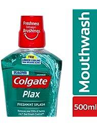 Colgate Plax Fresh Mint Mouthwash - 500 ml