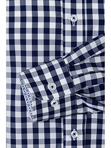 CASAMODA Uomini Camicia per ufficio Modern Fit Blu