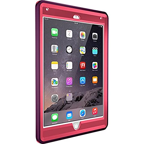 OtterBox Defender - Funda para Apple iPad Air 2, diseño crushed damson