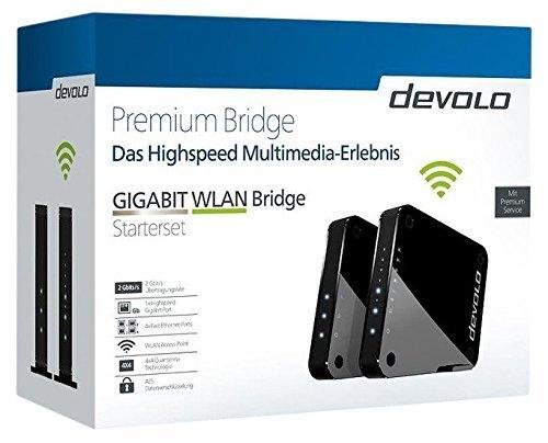 "Devolo 9964""GIGABIT WLAN Bridge Starter Set"